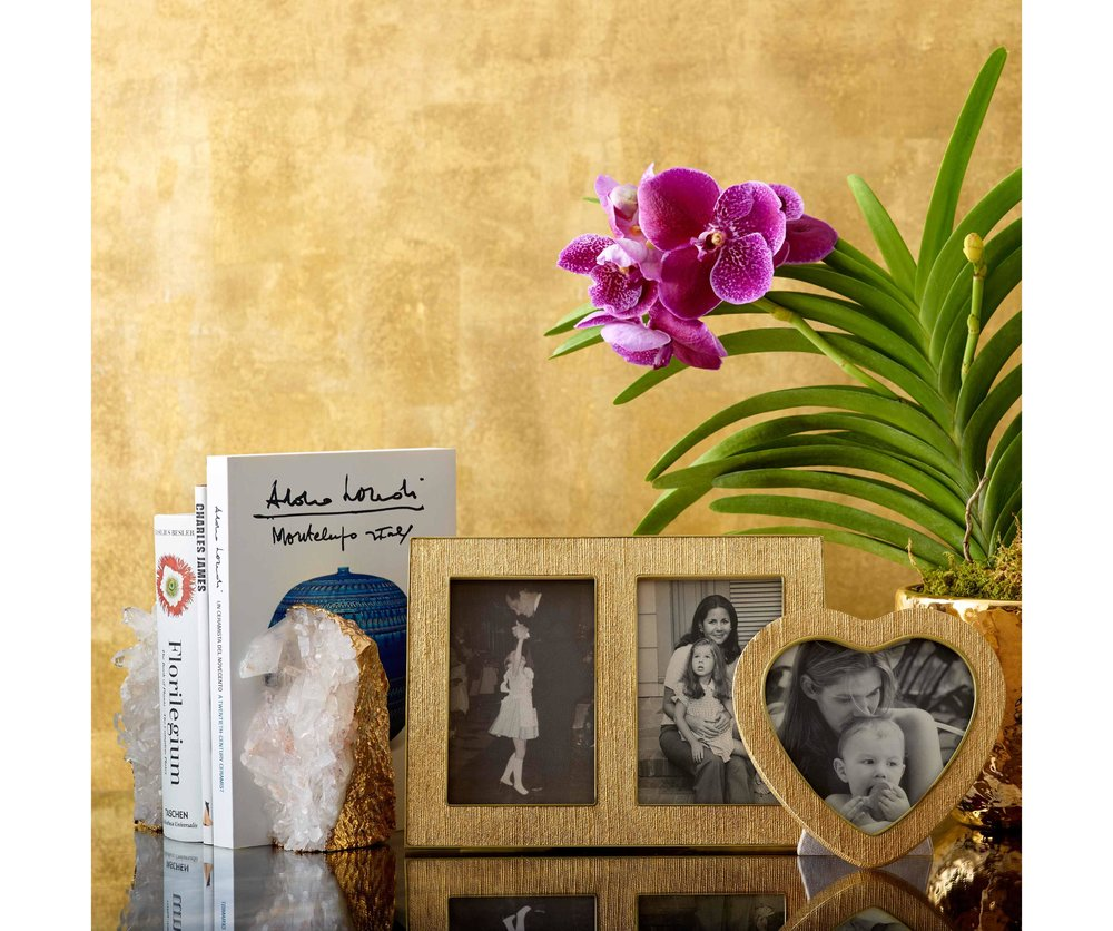 AERIN GIFTWARE    The new range of giftware from Aerin is both personal and classy, decadent and simple, useful and decorative - a sure winner for any family or friend lucky enough to receive.