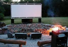 Kick Up Your Movie Night With A HUGE DIY Screen!