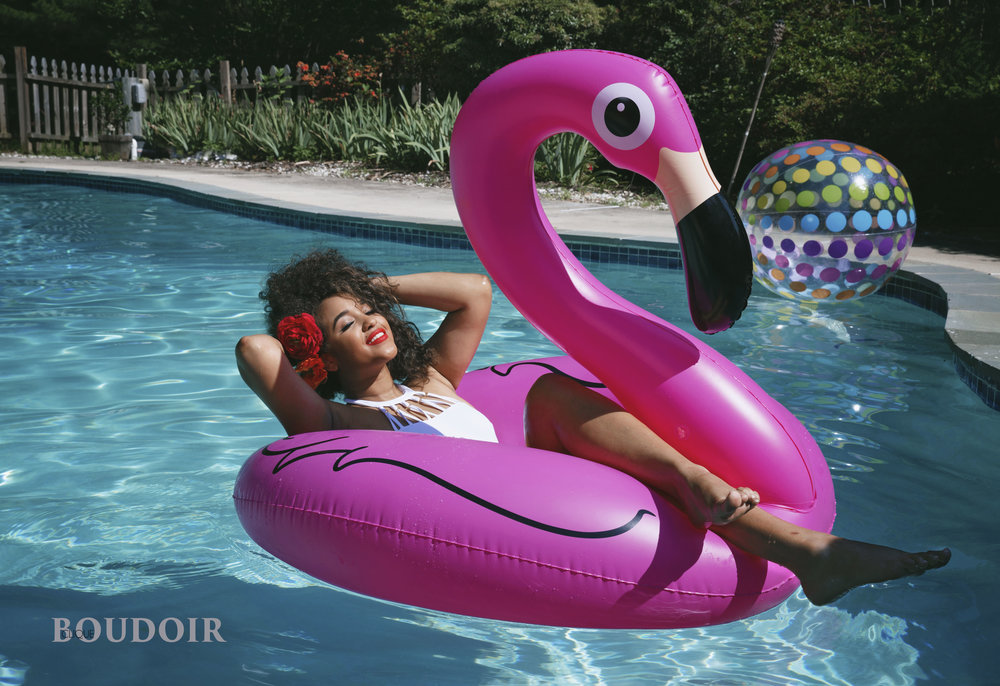 Cute Pool Accessories Are A Great Way To Go. Add Some Color And Relaxation Stations.