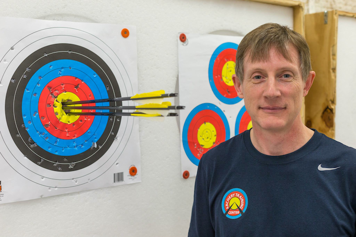 Dale Churchett explains how he got involved in competitive archery.