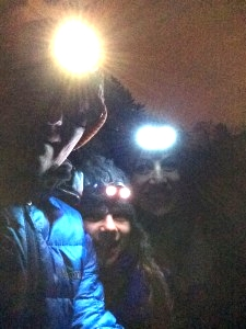 Night trekking at Perito Moreno, Patagonia, Argentina