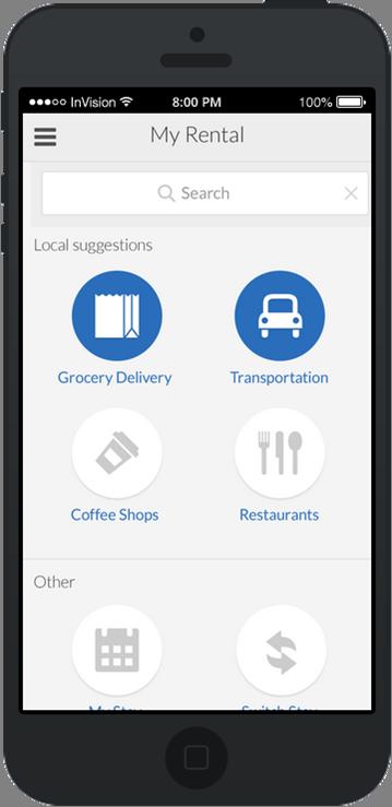 HomeAway's mobile app