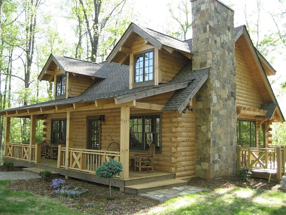 Cozy cabins perfect for a winter retreat homeaway blog for Custom rustic homes