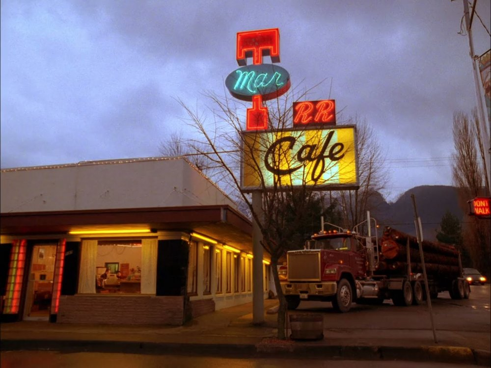 Photo from Twin Peaks, 1989