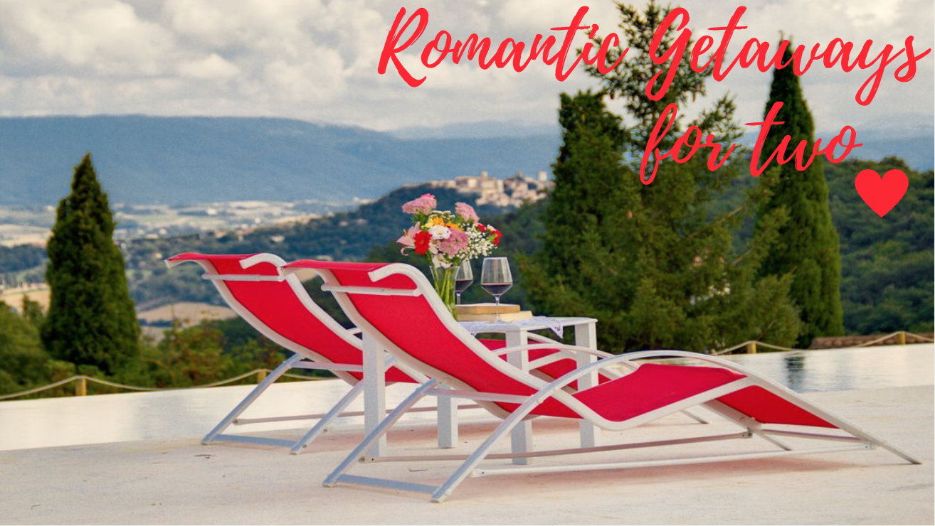 Homeaway blog for Romantic weekend getaways from dc
