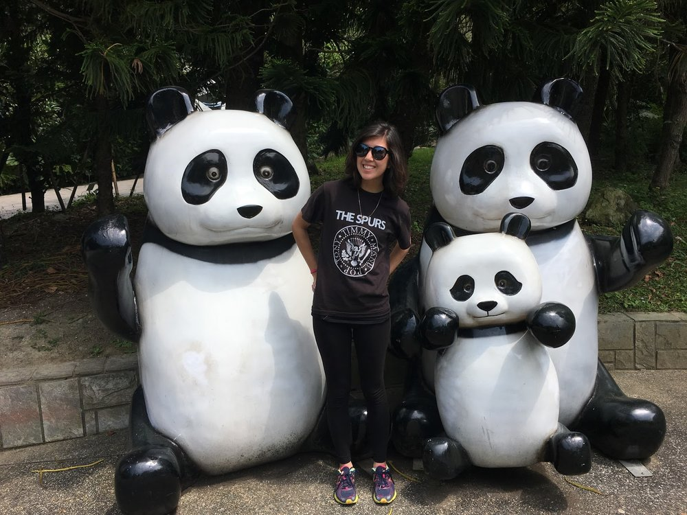 Me at the Taipei Zoo