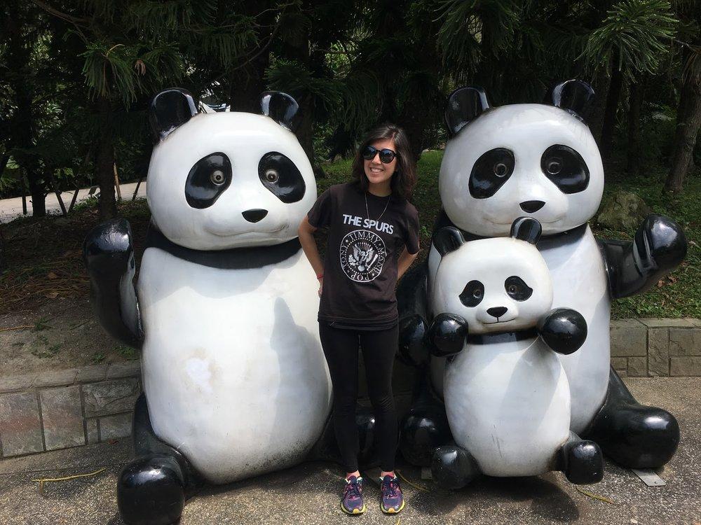 Me at the Taipei Zoo