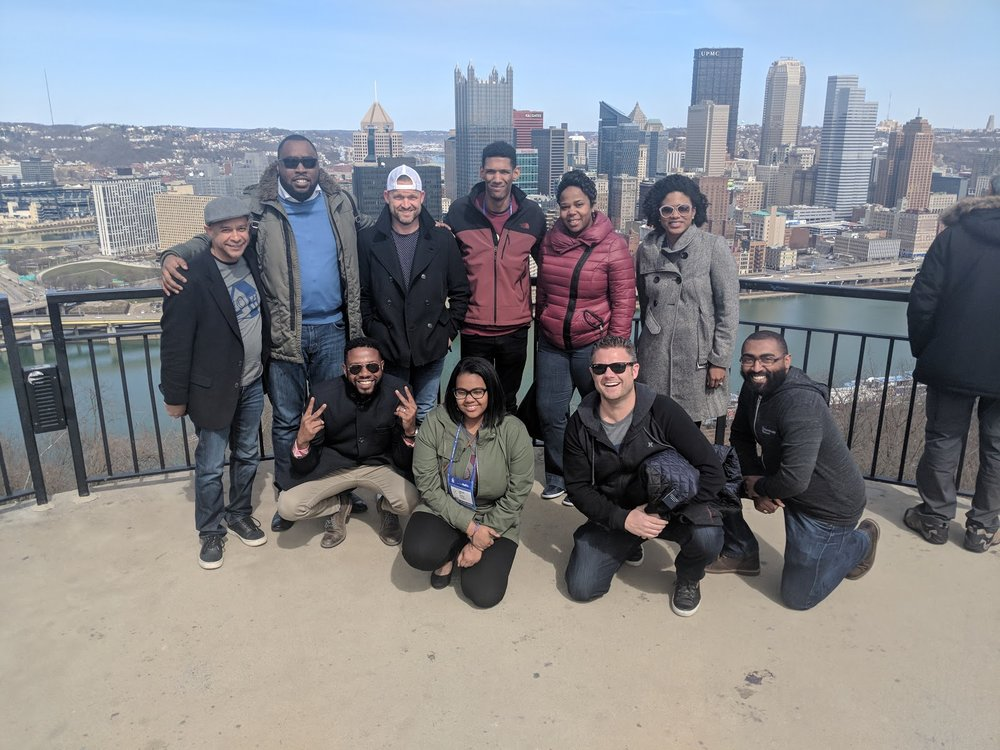 Team HomeAway at the NSBE Convention in Pittsburgh.