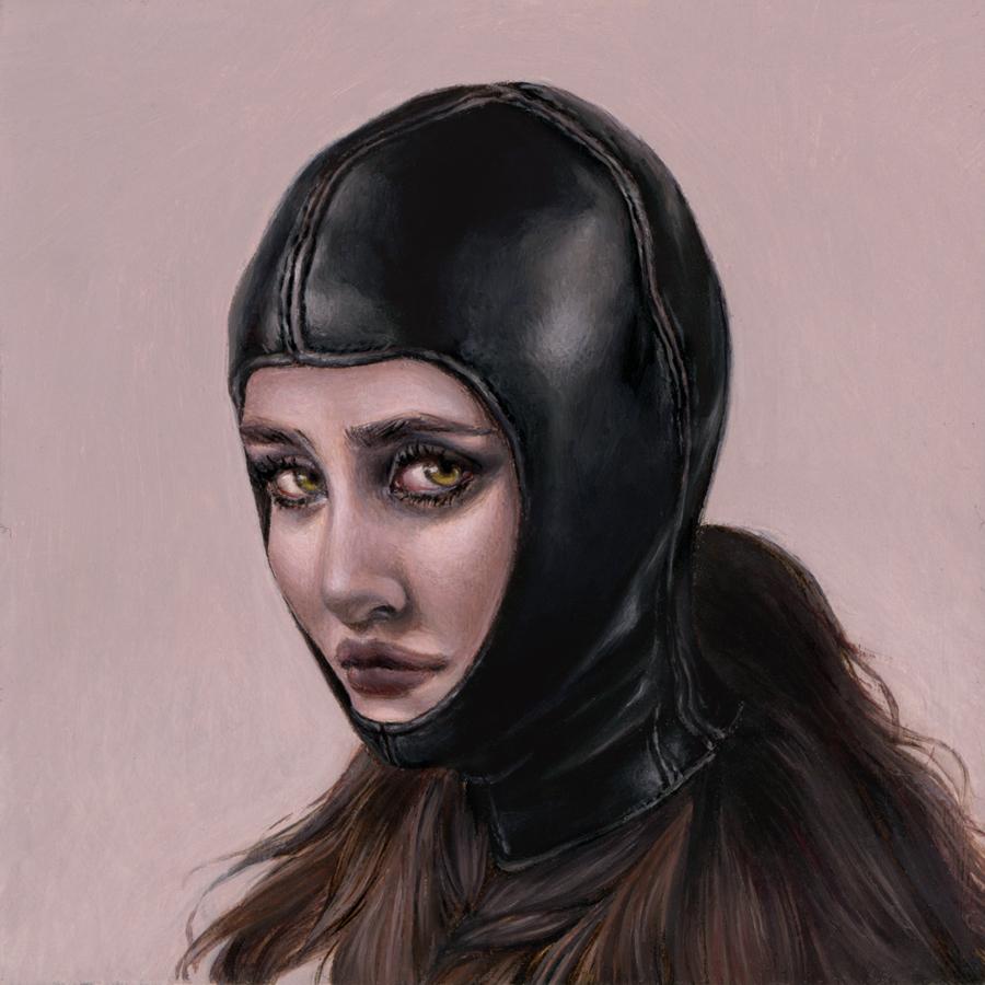 """Karen Hsiao, 'Mare', 3"""" x 3"""", Oil on Wood"""
