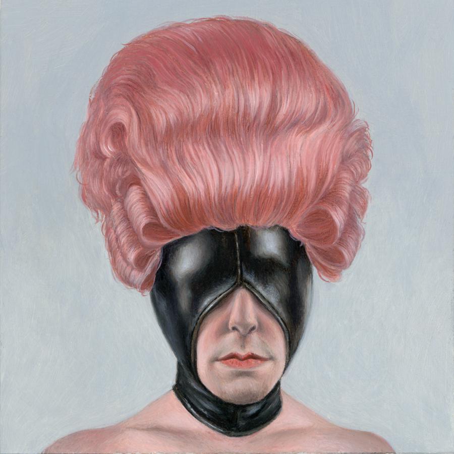 """Karen Hsiao, 'Pink', 3"""" x 3"""", Oil on Wood"""