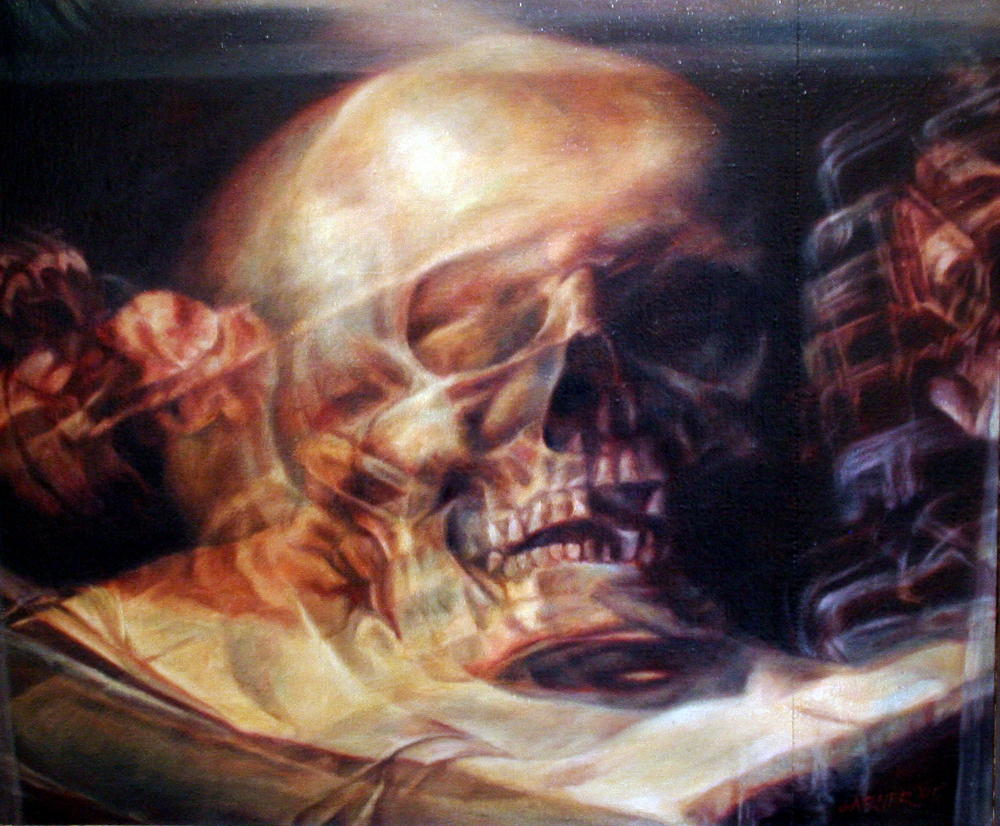 Tom Garner, 'Vanitas (After Guercino)', Oil on Linen, 24 x 24