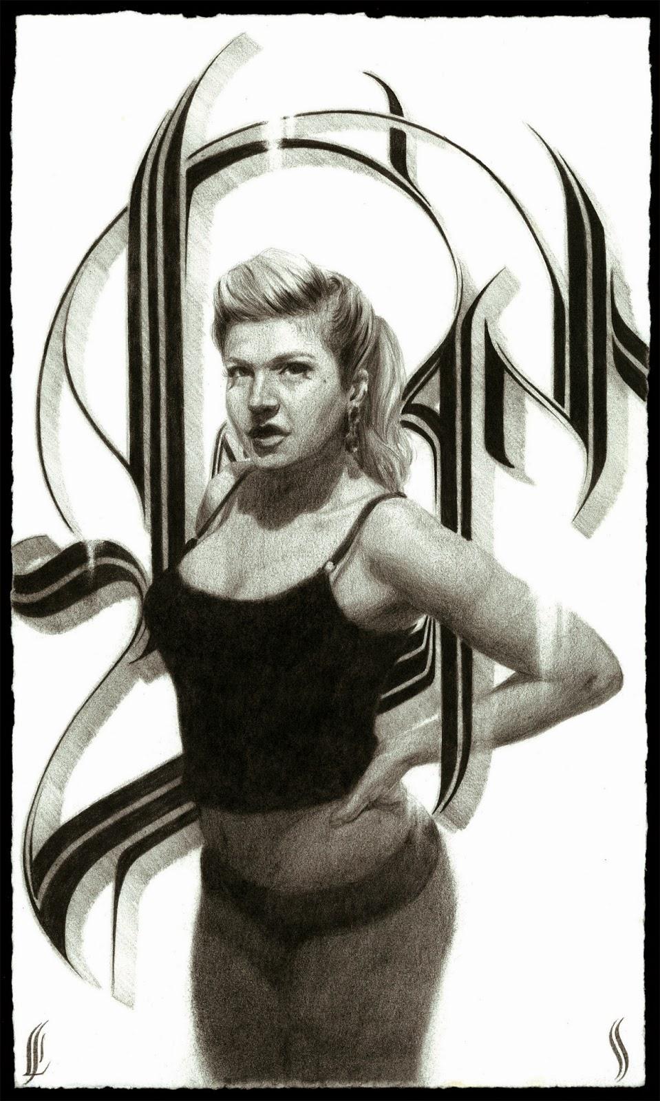 "Eric Skotnes, 'Swan', Graphite Paper, 16.5"" x 9"""