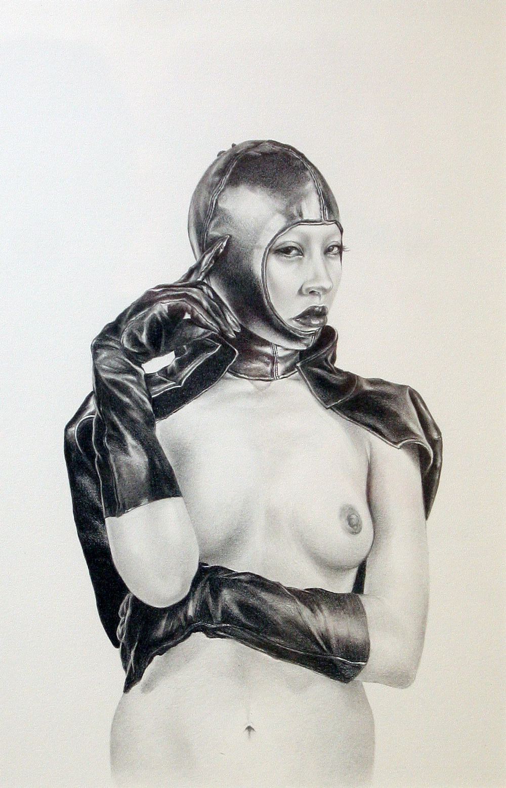 "Karen Hsiao, 'Libertine', Graphite on Vellum, 7.5"" x 11.5"""
