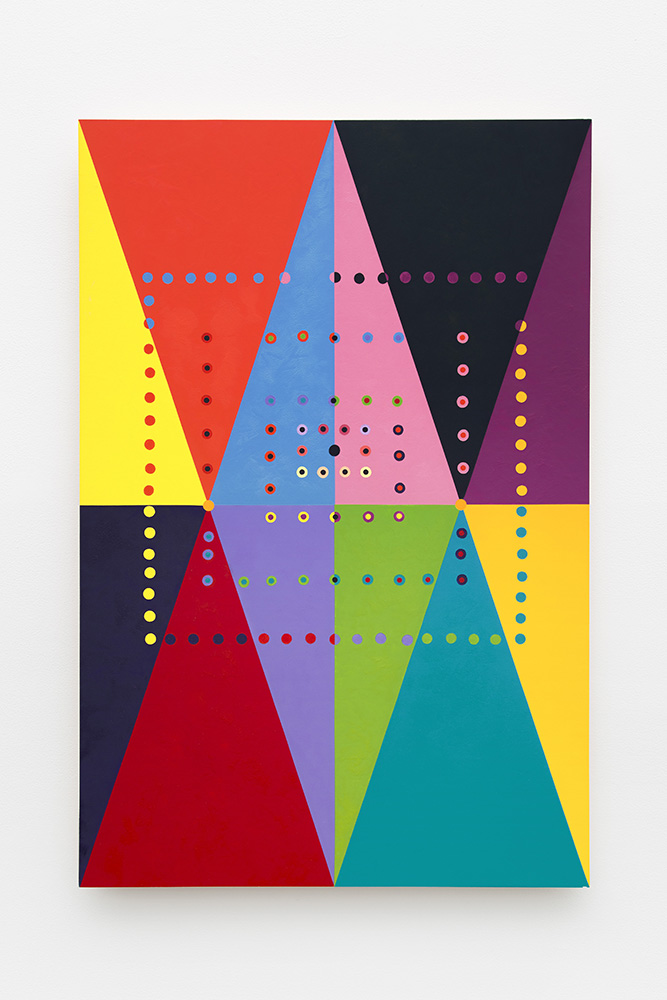 Marilyn Lerner   Overlap , 2012  Oil on wood  36 x 24 inches