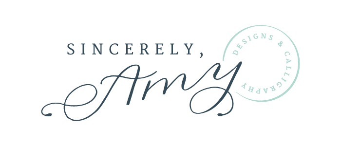 Sincerely Amy Designs