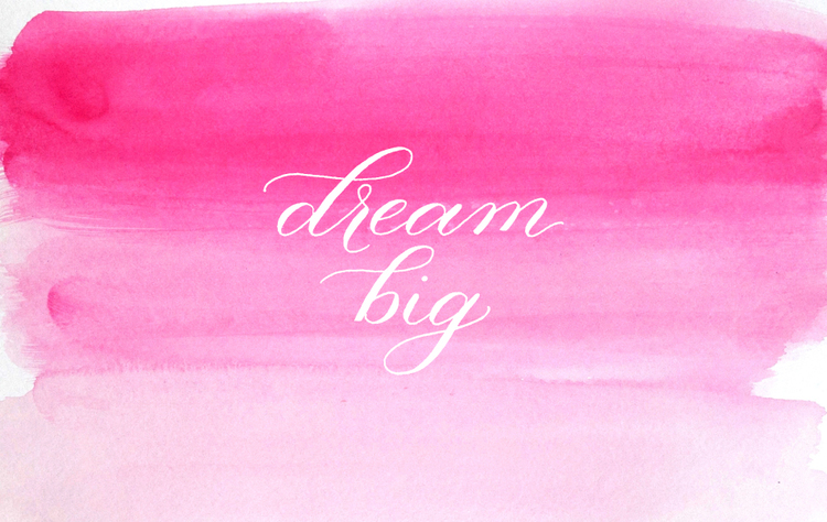 Dream Big Free Desktop And Iphone Wallpapers Sincerely Amy Designs