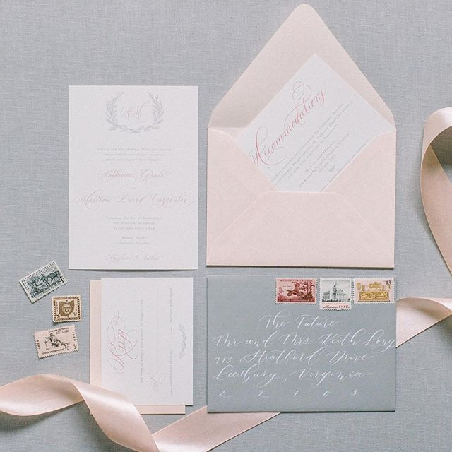 The talent of my friends often blows me away. @madelinetrentphotography is the real deal and I just love this image she captured of one of my invitation suites. Christmas will be here soon which means all the engagements which means invitation season is right around the corner!  #sincerelyamydesigns #sincerelyamysnailmail #sincerelyamyinvitations  #madelinetrentphotography