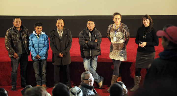 Tiger Gurung, Jamyang Thakuri, The Crown Prince of Mustang, Dipendra Bhandari, Miranda Morton Yap and Sophie Dia Pegrum.