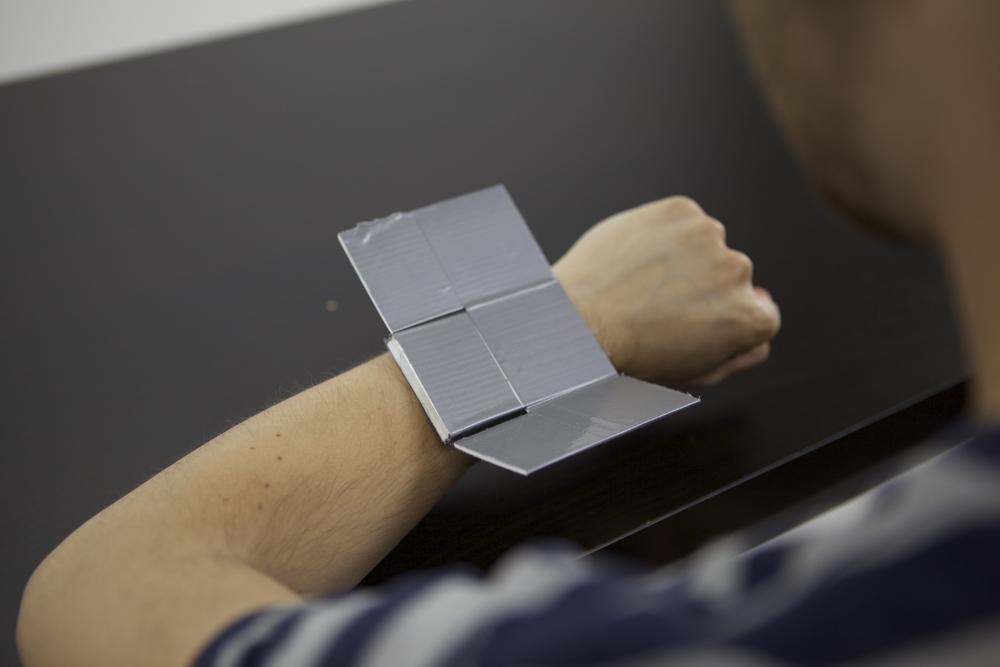 Prototype simulatesexpandable screen