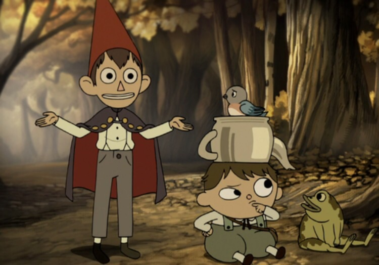 Wirt, Greg and Frog (aka Kitty and Wirt, name TBC) - Over the Garden Wall