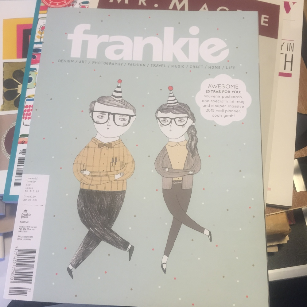 Frankie  lovely big bumper issue - The awesome extras totally had us sold.