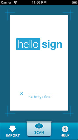 HelloSign: Simple, Secure Signatures from your Mobile Device