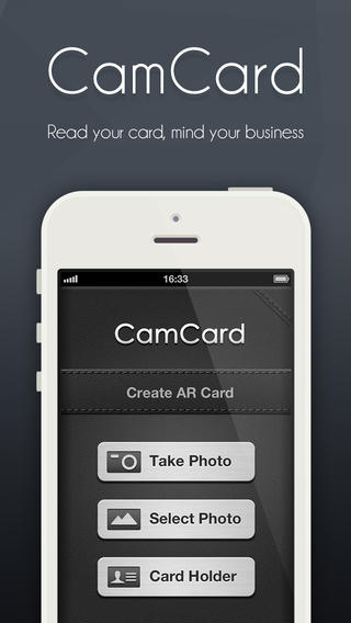 CamCard: Business Card Scanning and Contact Extraction
