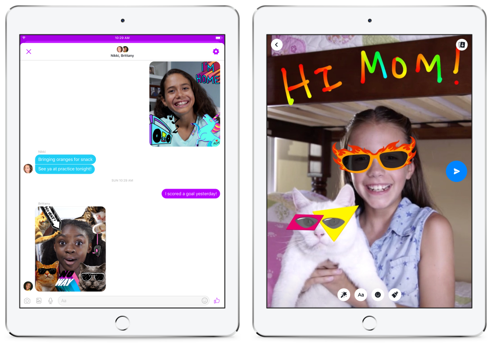 Image Source: https://newsroom.fb.com/news/2017/12/introducing-messenger-kids-a-new-app-for-families-to-connect/