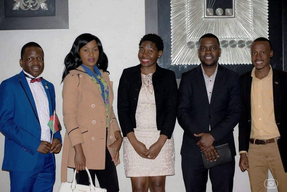 Wangiwe and the Mzuzu E-Hub team