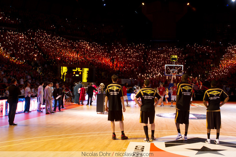 2011 Pro A Finals (Kenny's team Nancy beat Cholet 76-74 to win the Championship).