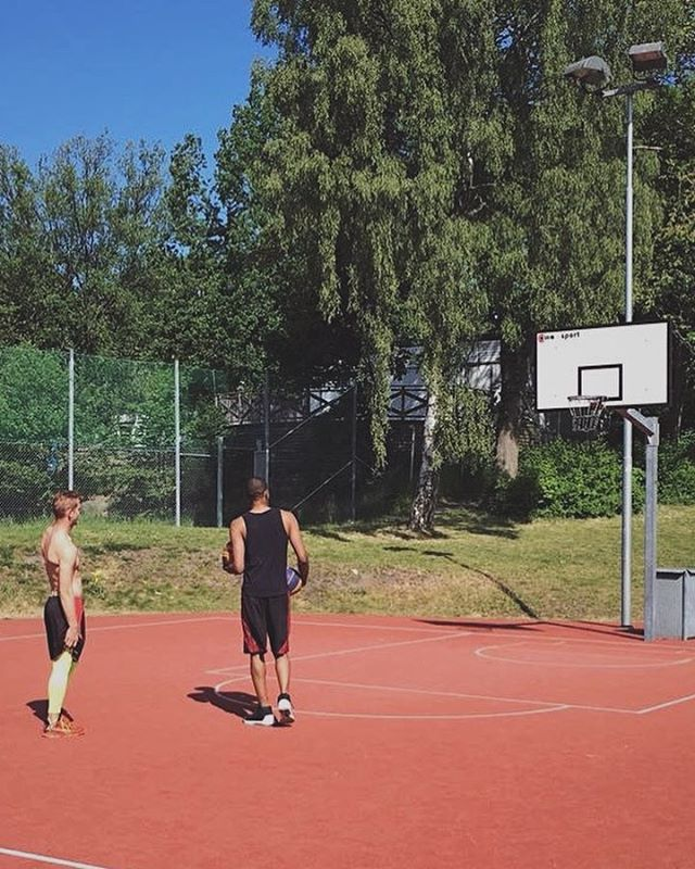 Aspuddens IP is the new place to be 🏀 📸: @gustav_g6