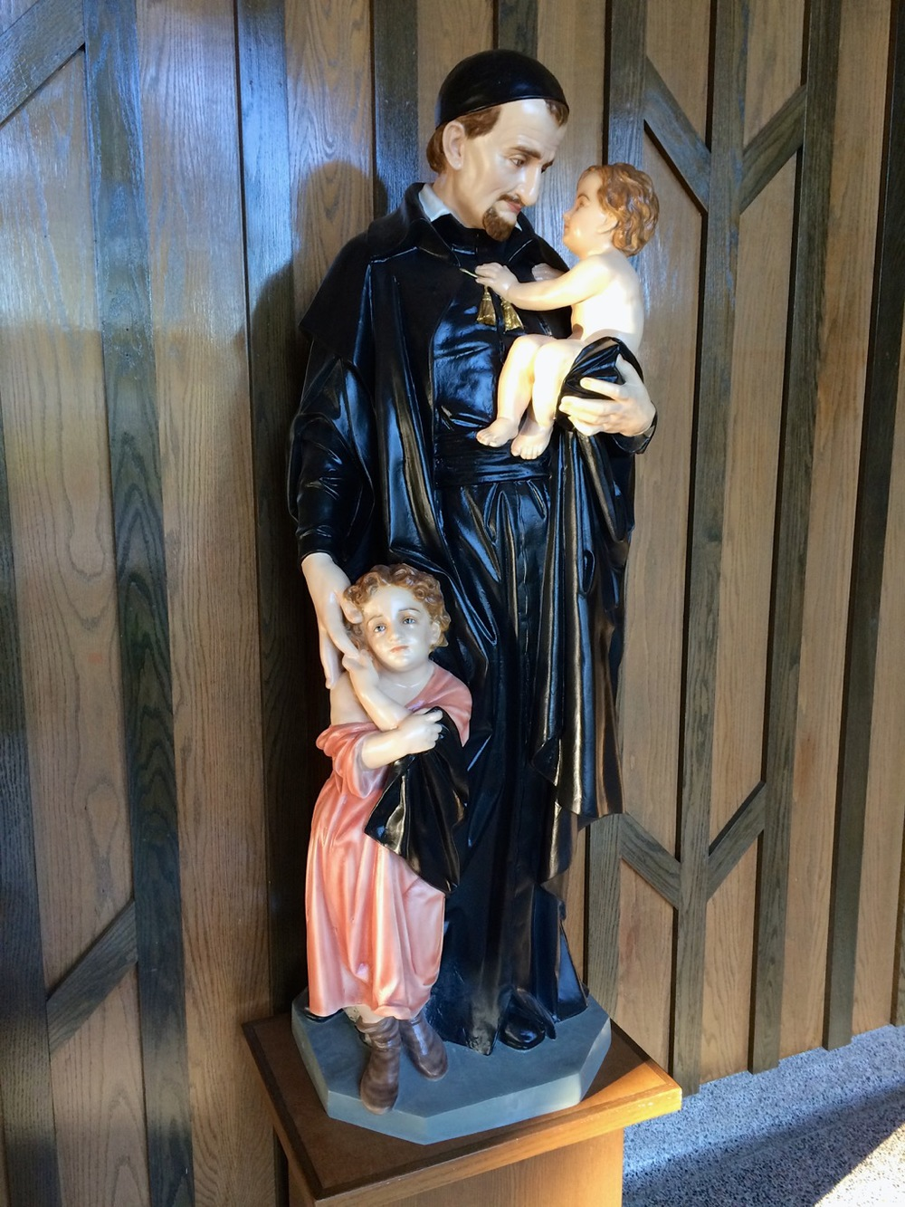 St. Vincent de Paul Statue
