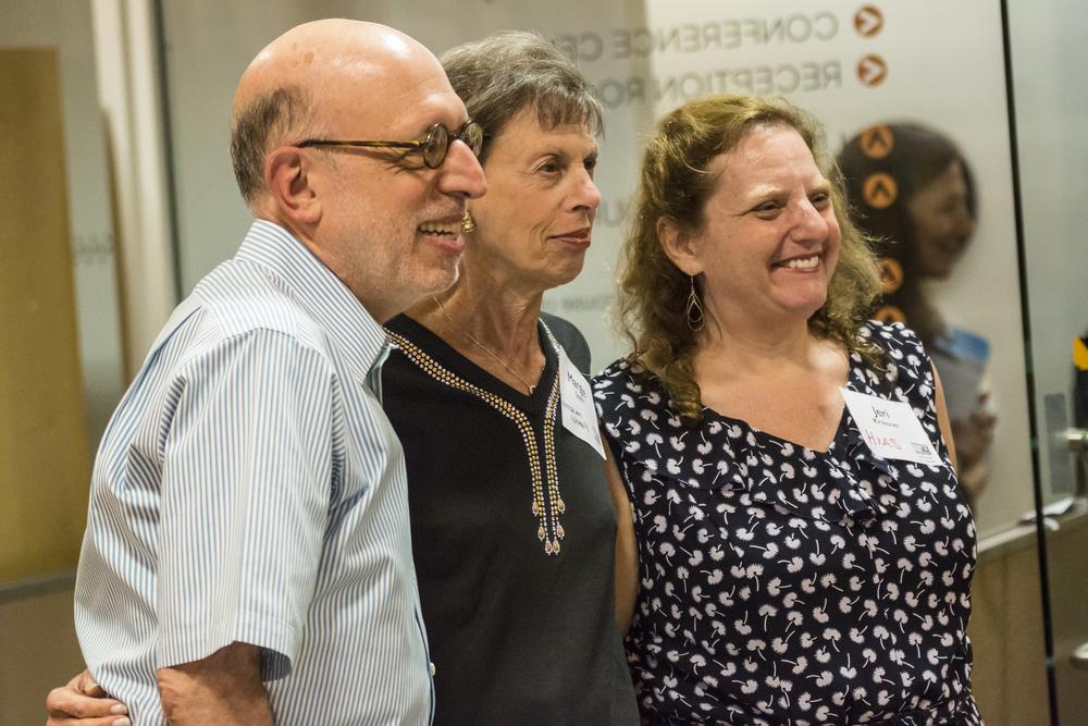Bob Friedlander, Margie Stern,and Jeri Krassner