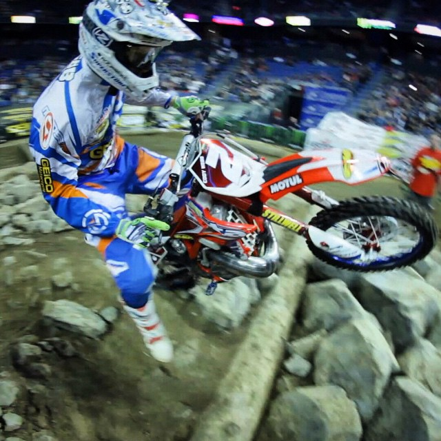 2014 ENDUROCROSS CHAMP CODY WEBB