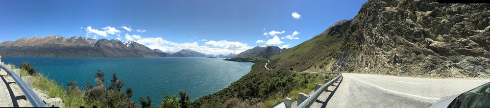 Queenstown to Glenorchy 60mins of pure joy and the best white knuckle road I've driven.