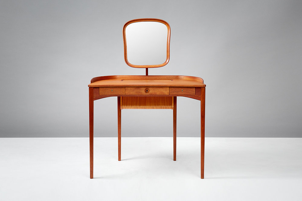 Carl Malmsten Birgitta Dressing Table, Mahogany