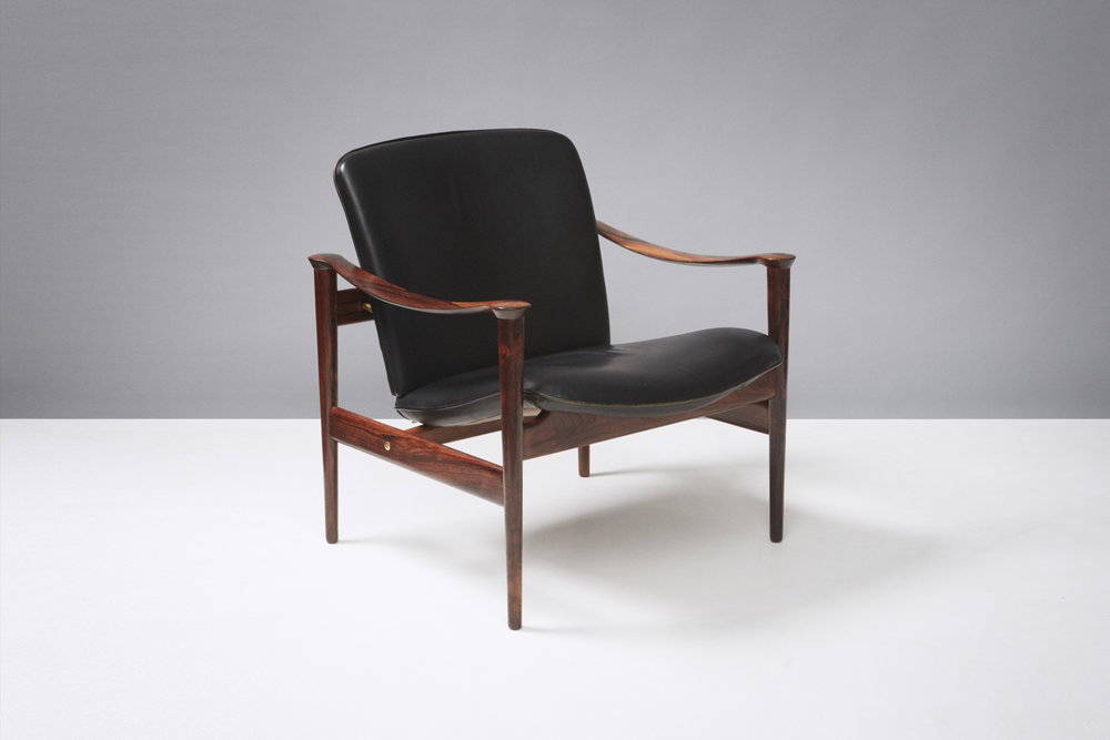Fredrik Kayser  Model 711 Chair, Rosewood