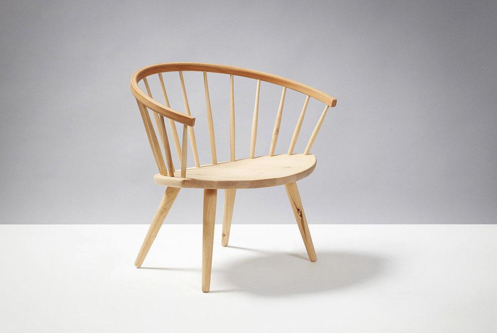 Yvgne Ekstrom  Arka Chair, Beech