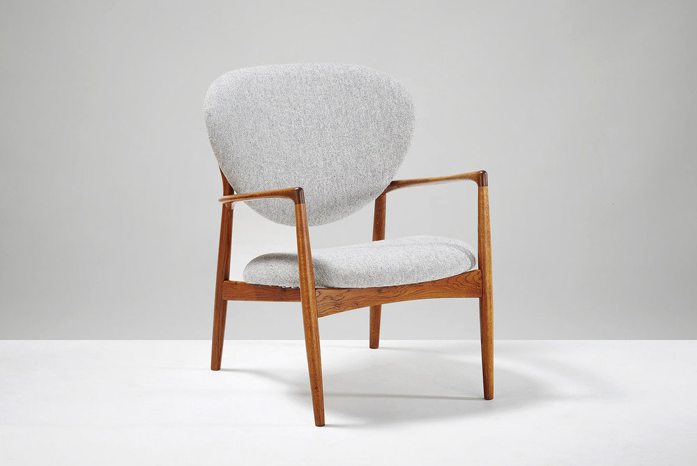 Ib Kofod-Larsen  Lounge Chair, Oak