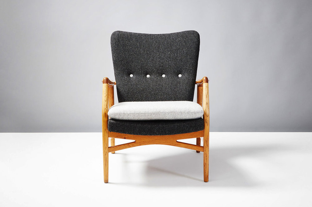 Kurt Olsen  215 Chair, Oak