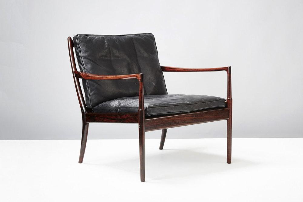 Ib Kofod-Larsen  Samso Chair, Rosewood