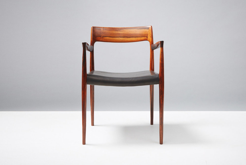 Niels Moller  Model 57 Chair, Rosewood