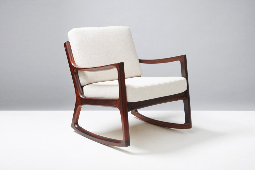 Ole Wanscher  Senator Rocking Chair, Rosewood