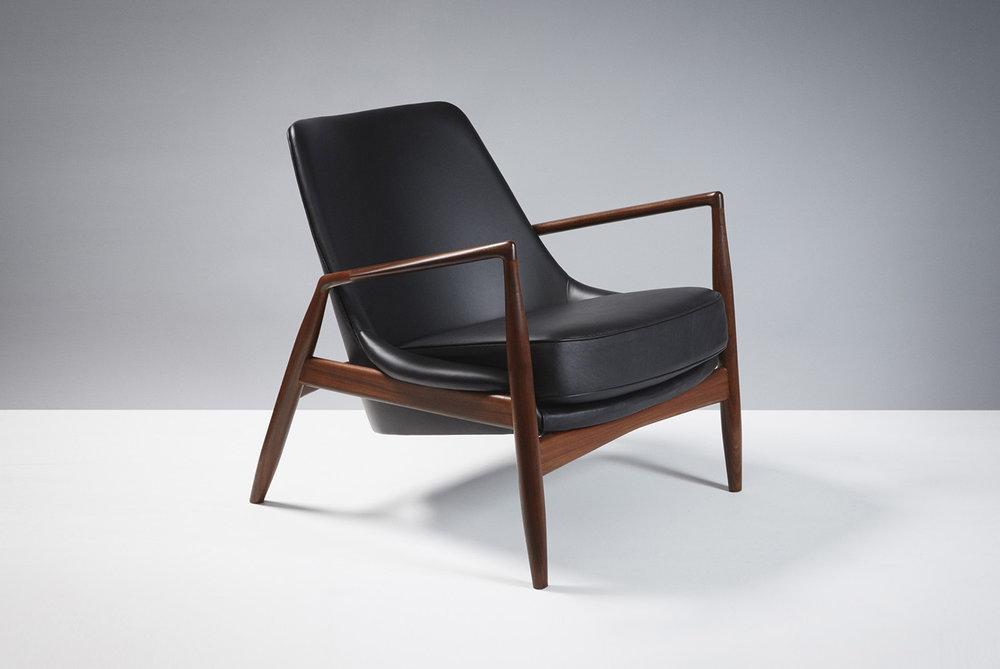 Ib Kofod-Larsen  Seal Chair, Afromosia Teak