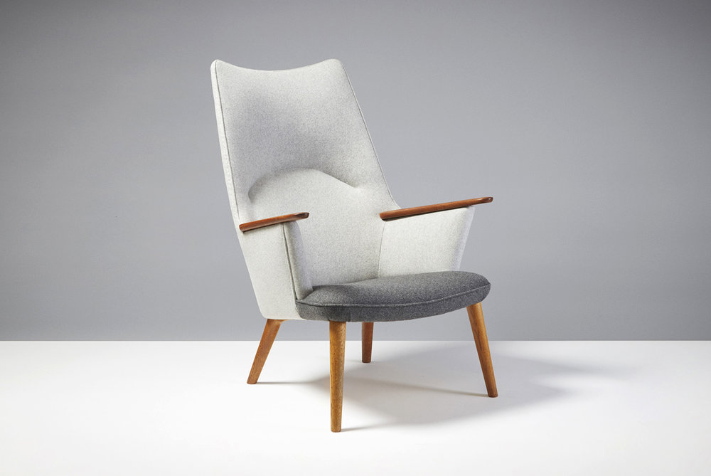Hans Wegner  AP-27 Chair, Teak & Oak