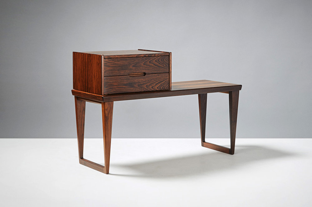 Kai Kristiansen  Bench & Drawers, Rosewood
