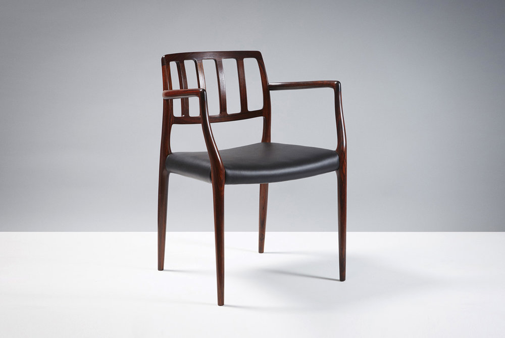 Niels Moller  Model 66 Chair, Rosewood