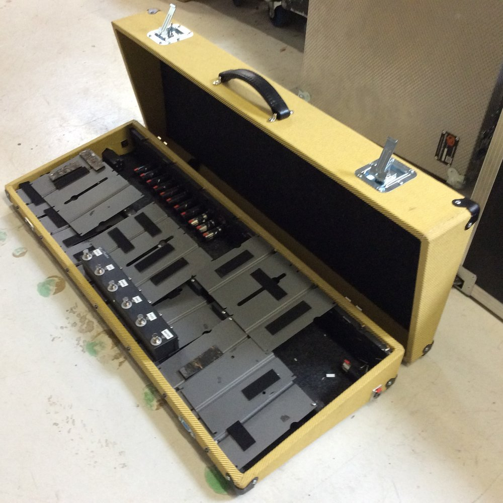 "Pedal Pad Flight Case  Make: MKS                                            Dimensions: 38"" X 14.5"" X 6.5""  Notes:"