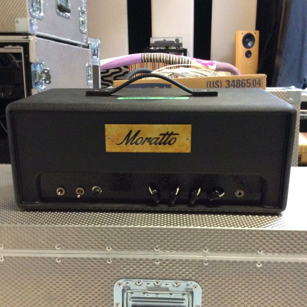 Moratto Custom Tube Amp Head  Notes: