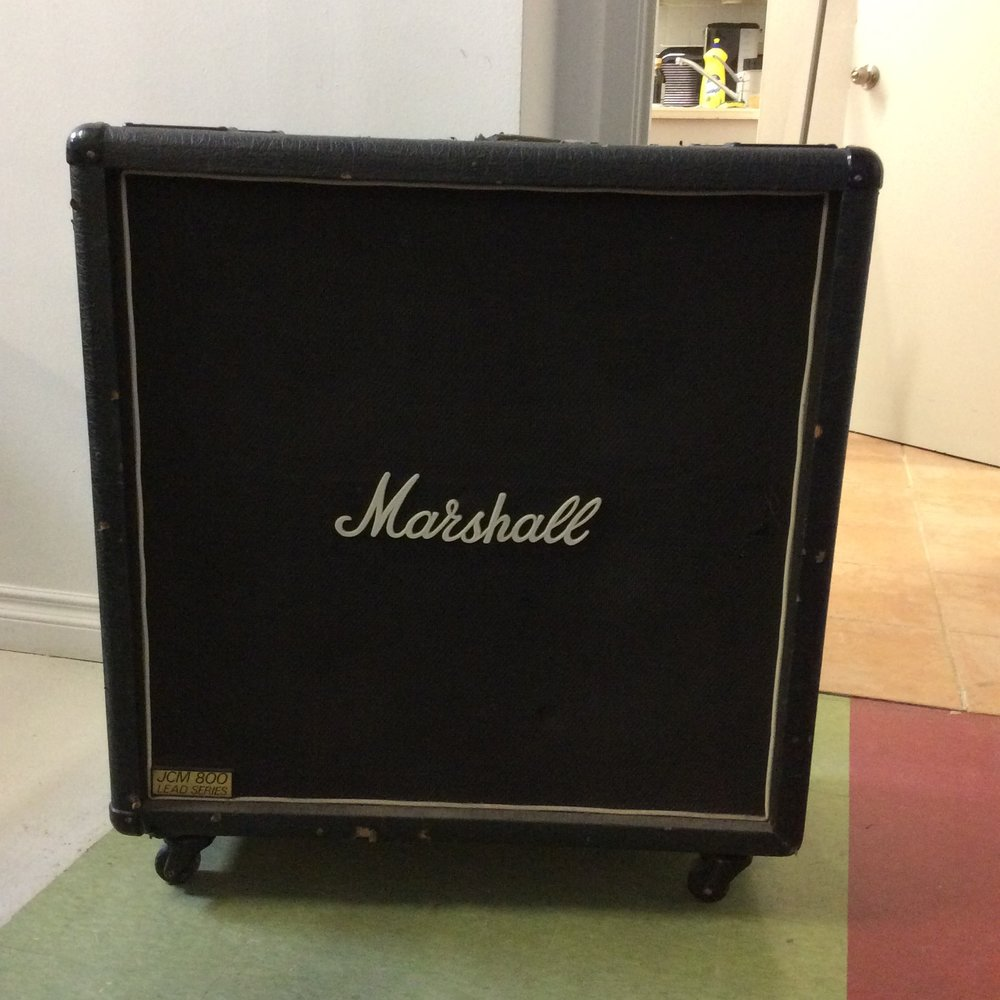 Marshall 4x12 Cab  Notes: